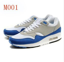 Discount Shoes Run Air Max Free Air Shipping 2016 High Quality New 87 Mens Brand Maxes Retro Classic Running Shoes Athletic Sport Shoes Light Outdoor Cushion Trainers