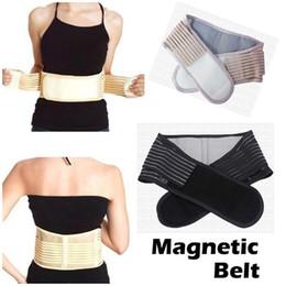 Wholesale Hot Magnetic Slimming Massager Belt Lower Back Support Waist Lumbar Brace Belt Strap Backache Pain Relief Health Care