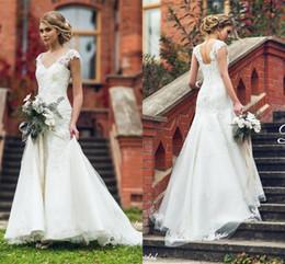 Discount Modest Wedding Dress Corset Back | 2017 Modest Wedding ...