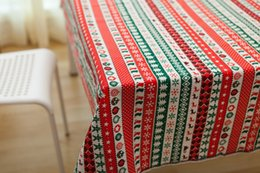 discount table linens for christmas cotton u0026 linen 150cm wide tolie fabric printed christmas style lovely - Discount Table Linens