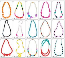 online shopping 2016 Moms necklaces Bohemian mum Beads Silicone teething necklace Infants Baby chew jewellery Colorful Baby toys Nursing love Gifts