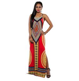 Wholesale 2016 Summer Boho Maxi Dresses for Women Sleeveless Chiffon Beach Maxi Dresses Casual Long Dress Vestidos