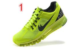2016 Shoes Run Air Max High Quality Wholesale Brand Air Fashion Sport Men Shoes Max 2013 2014 2015 KPU Running Sneakers Trainning Freerun Shoes Free Shipping 7-11