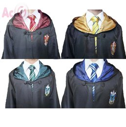 High Quality Harry Potter Robe Gryffindor Cosplay Costume Kids Adult Harry potter Robe cloak 4 styles Halloween Gift Only Robe Without Tie from gifts xxl manufacturers