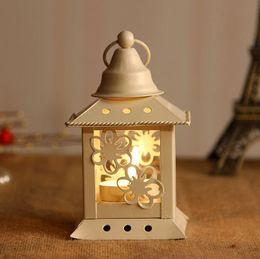 Birdcage Candle Holders Home Decor Candlesticks Wedding Candelabra Hollow Carved Design Mediterranean Style