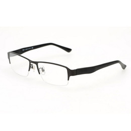 2016 brand designer men metal eyeglasses frames clear lens eye glasses optical prescription frames for men with original box logo 4 colors clear frame