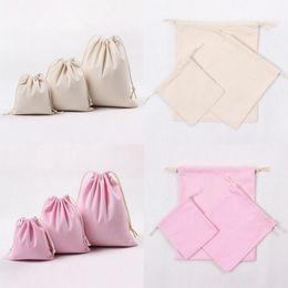 Natural Cotton Drawstring Bag Online | Natural Cotton Drawstring ...