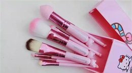 Wholesale New Hello Kitty Jian Makeup Brush set professional Makeup tools portable storage box full set of factory outlet DHL