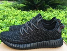 Wholesale 2016 best sports shoes Yeezy Boost Kanye West Yeezy Low YZY Turtle Dove Mens womans running Shoes Grey