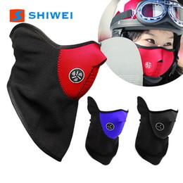 мотоцикл Поставка верхом ветрозащитной маски пыленепроницаемый маска для защиты лица теплый холодный открытый лыжный маска