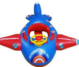 Wholesale Oro Manos Niños Pequeños Piscina Agua Juguetes Niños Aeroplano Diseño Inflable Natación Anillo Perfecto Para Bebé Niños Natación Entrenamiento