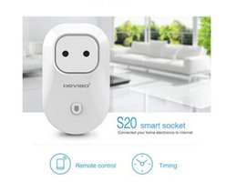 MOQ 20pcs samrt wifi prise de courant EU, US, UK, AU Standard Prise de Voyage Plug Socket Domotique pour téléphone android