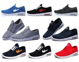 2016 Shoes Run Air Max 2016 Hot selling SB Stefan Janoski Max Running Sport Shoes Size US7-US11 High quality Summer breathable air cushion sneaker for men Shoes Run Air Max on sale