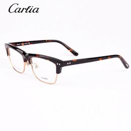 ca5318 carfia eyeglass frames plank designer eyeglass frames 2015 54mm new arrival optical frame glasses women men frames for myopia glasses