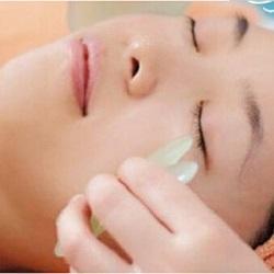 Wholesale Jade Stone Guasha Massage Tool Health Jade Gua Sha Massage Board Traditional Chinese Acupoints Theory Brand New And High Quality