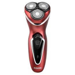 Wholesale Povos rechargeable Hommes Triple lame Design ergonomique Rasoirs Rasoir électrique remplaçable étanche avec Pop up Trimmer PW751R
