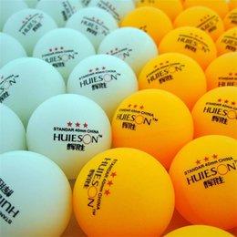 60 Pcs 3-Star Balles de tennis de table 40mm 5g / pc Balles de tennis de table olympiques Ping-pong Ball Pingpong Ball Balle d'entraînement amateur B