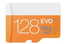 Tarjeta de memoria de la alta calidad EVO de 2016new 8G 16G 32G 64G 128G 256G Tarjetas de memoria micro del SD del tamaño completo de la tarjeta 64GB TF con el paquete al por menor @ 02