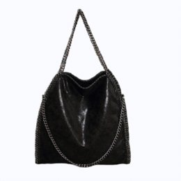 leather handbags chains bolsas feminina tote bag yves saint laurent shoulder bag. Black Bedroom Furniture Sets. Home Design Ideas