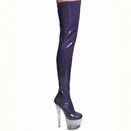 Discount Plus Size Thigh High Heel Boots | 2017 Plus Size Thigh ...