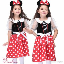 Discount Minnie Mouse Red Polka Dot Dress - 2017 Minnie Mouse Red ...