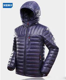 Discount Navy Blue Down Coat | 2017 Navy Blue Long Down Coat on ...