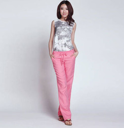 Womens Linen Pants Wide Leg Suppliers | Best Womens Linen Pants ...