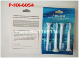Wholesale 12pcsx electro toothbrush heads for Philips Sonicare Sensitive P HX HX6054 electric toothbrush head helmet head knit