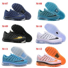 Discount Shoes Run Air Max 38Color Wholesale Free Shipping Cheap Famous Air 2016 Mens Running Shoes Max Sneaker Trainers Size 40-46 Mix Order