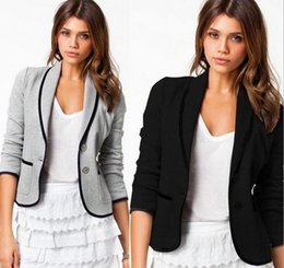 Discount Gray Blazers For Women | 2017 Gray Blazers For Women on ...