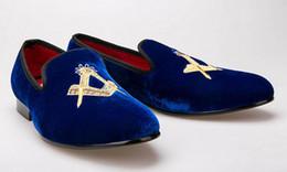 Discount Dark Blue Dress Shoes Men | 2017 Dark Blue Dress Shoes ...