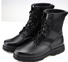 Discount Black Combat Boots Free Shipping | 2017 Black Combat ...