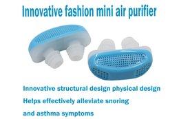 Модный портативный мини-фильтр очистителя воздуха эффективно предотвращает храп сонный