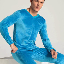 Discount Men Thermal Underwear Thick Tops | 2017 Men Thermal ...