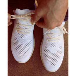 Wholesale 2016 Children And Adult New Futurecraft D Printed Sneakers Rice White Triple Black Running Shoes