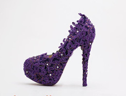 Purple Diamond Heels | Tsaa Heel