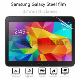 Protector de pantalla nuevo lote de tabletas de alta definición frontal película protectora para Samsung Galaxy Tablet PC endurecido película protectora