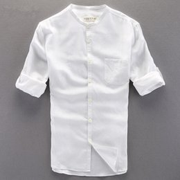 Black linen dress shirts