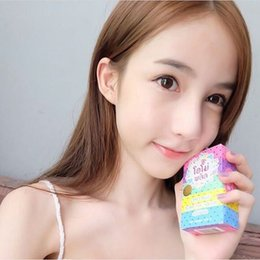 Wholesale Gluta Whitening Soap rainbow soap OMO White Mix Fruits Color Alpha Arbutin Anti Dark Spot HHA942