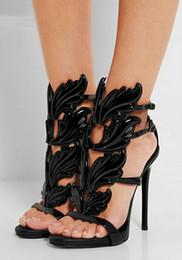 Gold Leaf Wing Heels Online | Gold Leaf Wing Heels for Sale