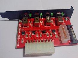Четыре канала SATA HDD устройство Выключатель питания (Star Empery PT628)