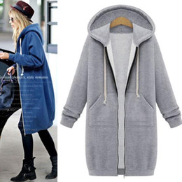 Womens Long Zip Up Hoodie Online | Womens Long Zip Up Hoodie for Sale