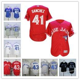 online shopping Toronto Blue Jays jerseys Aaron Sanchez R A Dickey Dalton Pompey Baseball Jersey for sale mlb jersey cool base jersey