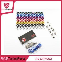 JDM Стиль алюминиевый шайбами (10 PCS пачке) и болт для Honda Civic Integra RSX EK EG DC