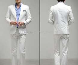 White Pant Coat Red Tie Online   White Pant Coat Red Tie for Sale