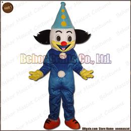 Wholesale Costume de mascotte de clown la livraison libre adulte drôle de bande dessinée de mascotte de peluche de haute qualité de qualité accepte l ordre d OEM