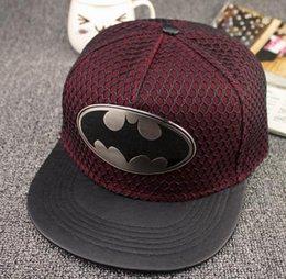 Новая мода лето Super Hero Bat chiropter Hat бейсболке для мужчин Женщины Повседневная Bone Hip Hop SNAPBACK Caps Шляпы