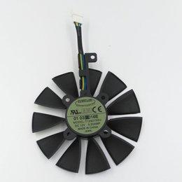 Nueva original EVERFLOW T129215SU DC 12V 0.5A tarjeta VGA 85mm ventilador de refrigeración para tarjeta gráfica ASUS GTX980Ti, R9 390 390X, GTX1070 1080