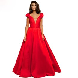 Discount red evening dresses