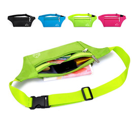 online shopping Waist Pack Running Bag Belt Pouch Water Resistant Reflective Runner for Running Hiking Trip Pack Outdoor Cycling A073